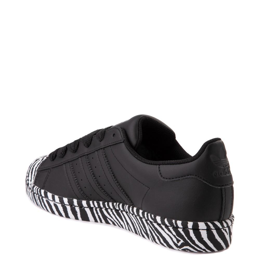 adidas superstar all black womens