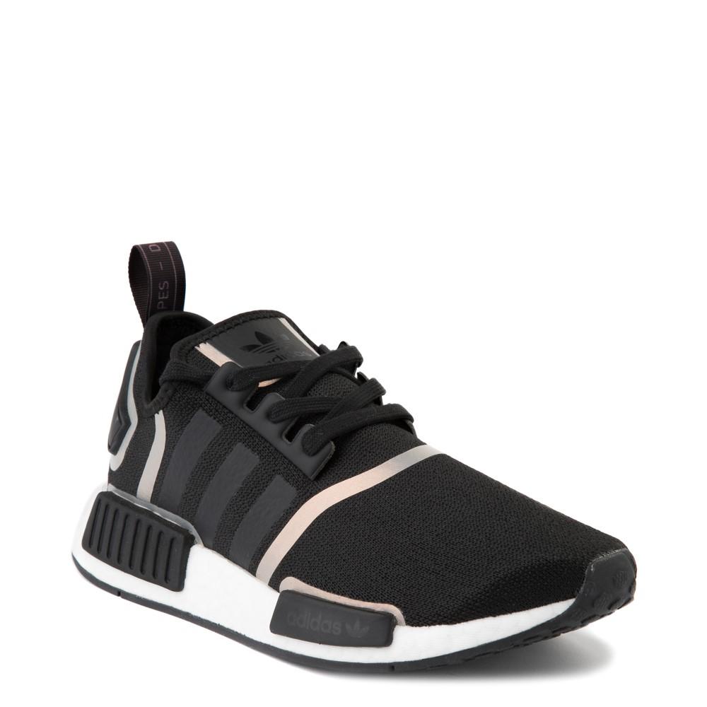 Resplandor Mucho Abastecer  Womens adidas NMD R1 Athletic Shoe - Black / Iridescent | Journeys