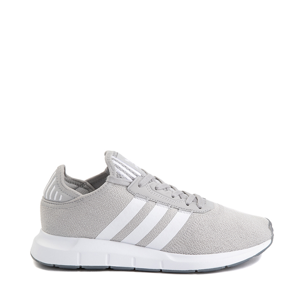 Main view of Womens adidas Swift Run X Athletic Shoe - Gray / White
