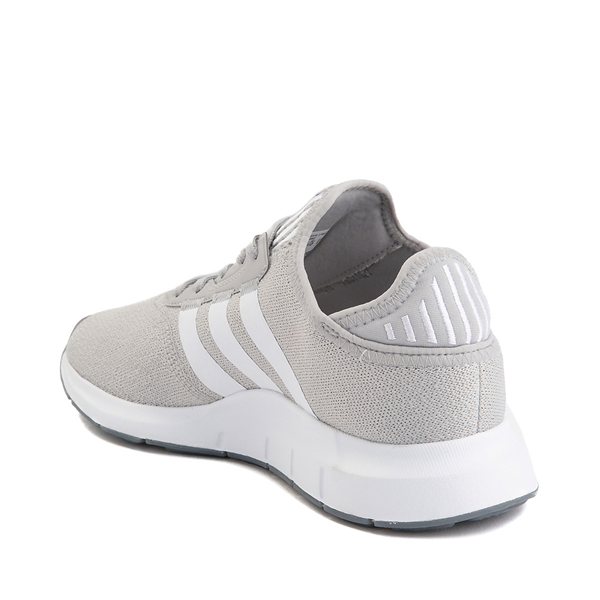 alternate view Womens adidas Swift Run X Athletic Shoe - Gray / WhiteALT1