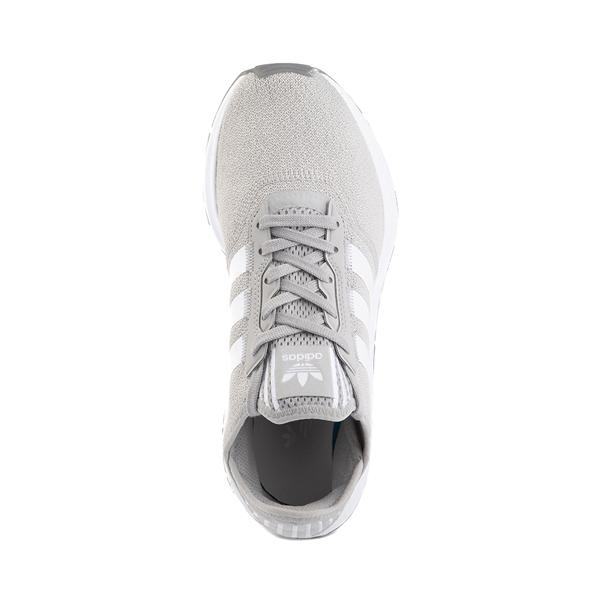 alternate view Womens adidas Swift Run X Athletic Shoe - Gray / WhiteALT2