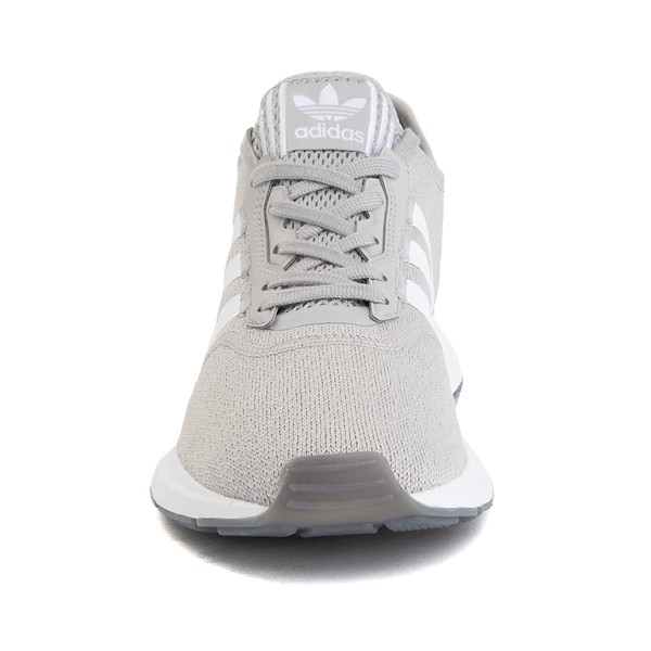 alternate view Womens adidas Swift Run X Athletic Shoe - Gray / WhiteALT4