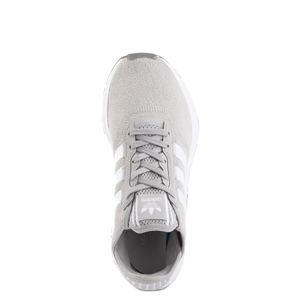 alternate view Womens adidas Swift Run X Athletic Shoe - Gray / WhiteALT4B