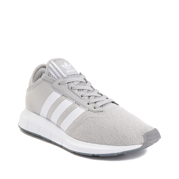 alternate view Womens adidas Swift Run X Athletic Shoe - Gray / WhiteALT5