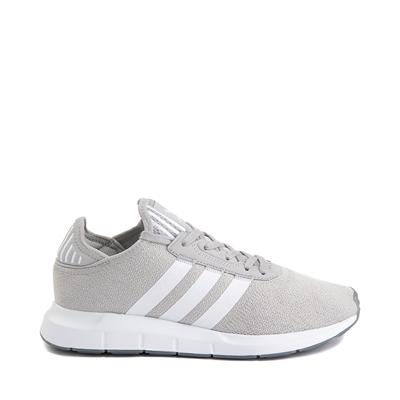 Main view of Womens adidas Swift Run X Athletic Shoe - Gray / White