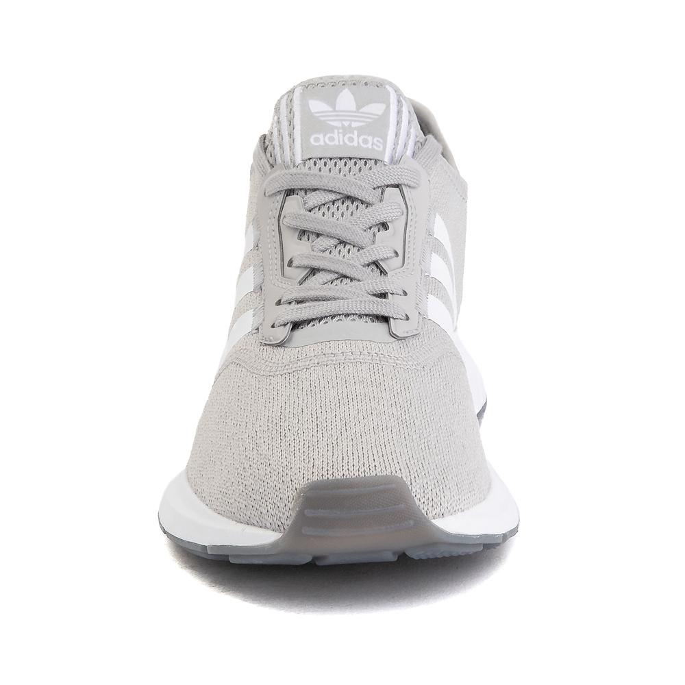 Womens adidas Swift Run X Athletic Shoe - Gray / White