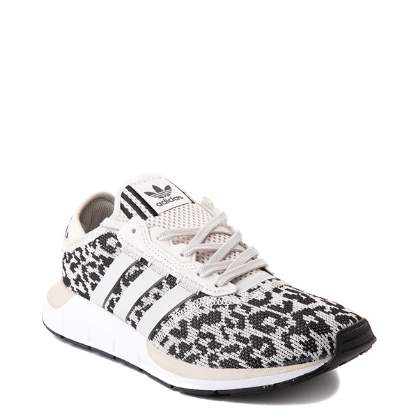 alternate view Womens adidas Swift Run X Athletic Shoe - LeopardALT5