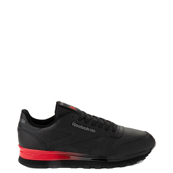 Mens Reebok Classic Athletic Shoe - Black / Red
