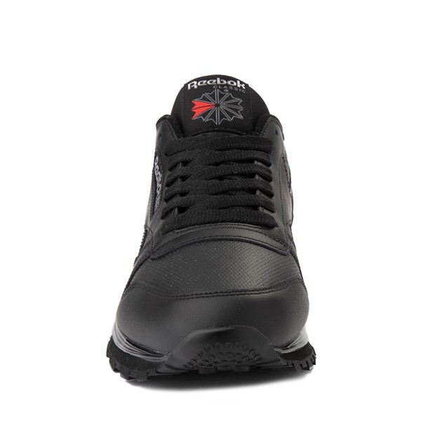alternate view Mens Reebok Classic Athletic Shoe - Black / RedALT4