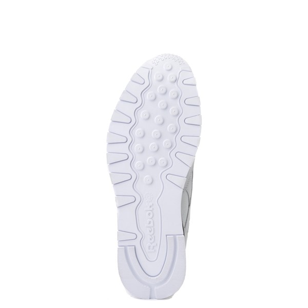alternate view Mens Reebok Classic Leather Clip Athletic Shoe - Gray / CharcoalALT3