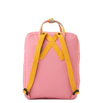 Alternate view of Fjallraven Kanken Backpack - Pink / Multi
