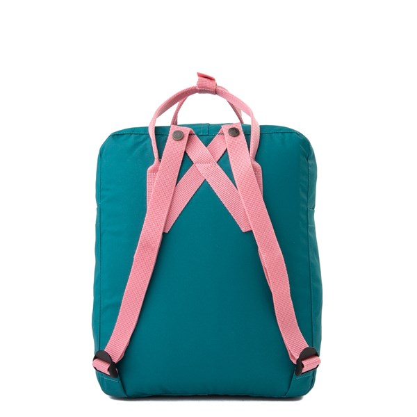 alternate view Fjallraven Kanken Backpack - Ocean Green / PinkALT1