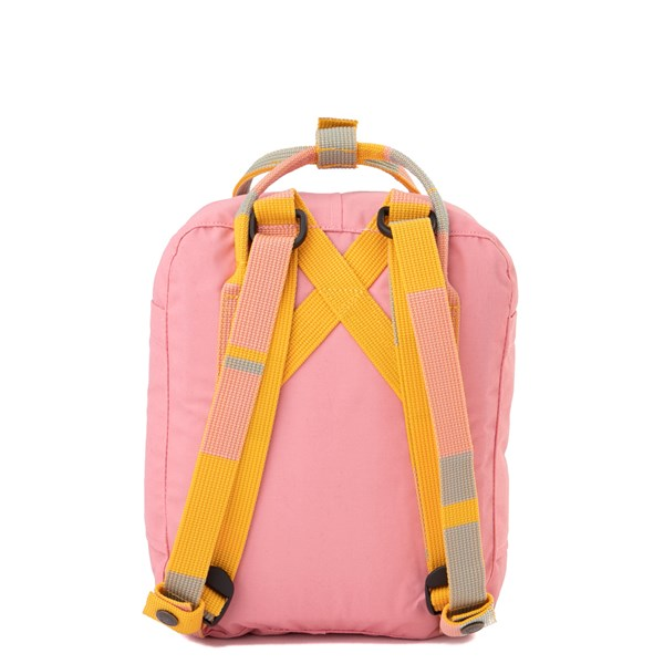 alternate view Fjallraven Kanken Mini Backpack - Pink / MultiALT1