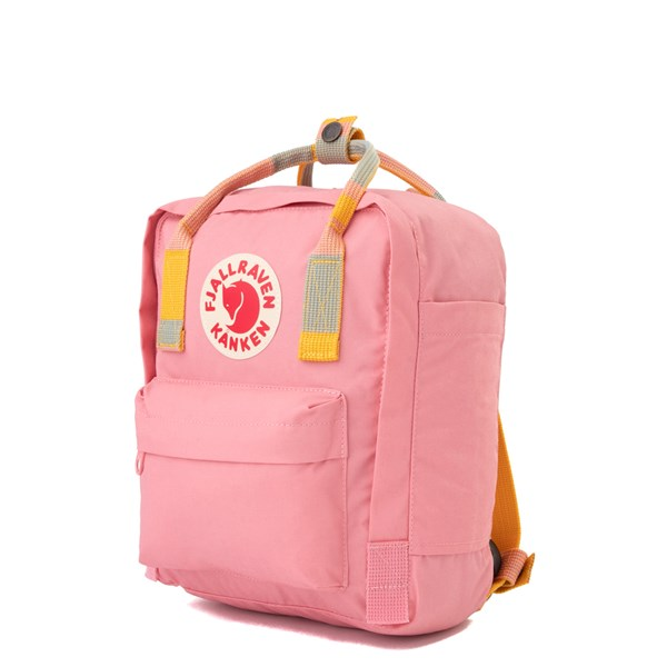 alternate view Fjallraven Kanken Mini Backpack - Pink / MultiALT2