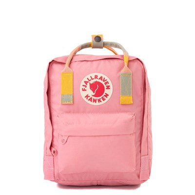 Main view of Fjallraven Kanken Mini Backpack - Pink / Multi