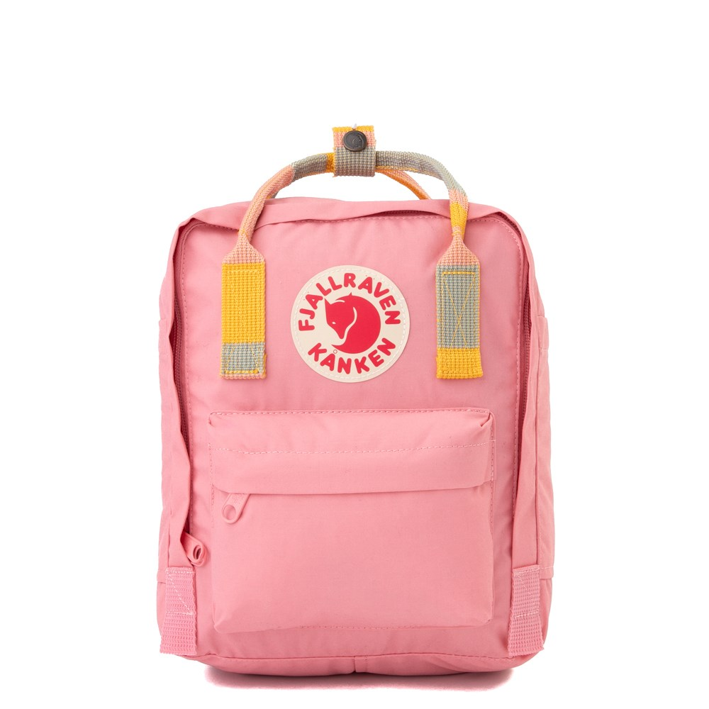 Fjallraven Kanken Mini Backpack - Pink / Multi