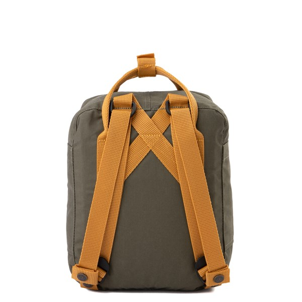 alternate view Fjallraven Kanken Mini Backpack - Olive / OchreALT1