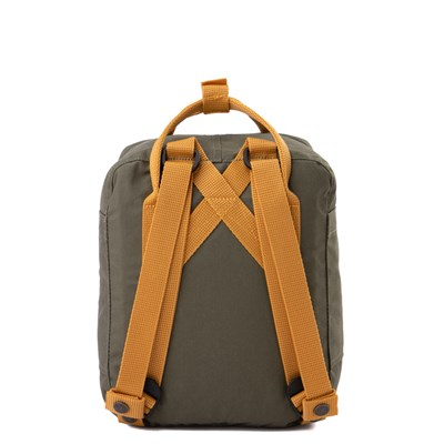 Alternate view of Fjallraven Kanken Mini Backpack - Olive / Ochre
