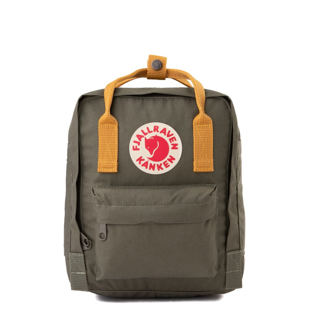 Fjallraven Kanken Mini Backpack - Olive / Ochre