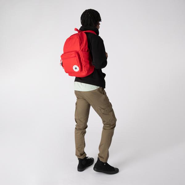 alternate view Converse Go 2 Backpack - University RedALT1BADULT