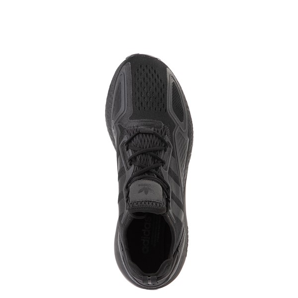 alternate view Mens adidas ZX 2K Boost Athletic Shoe - Black MonochromeALT2
