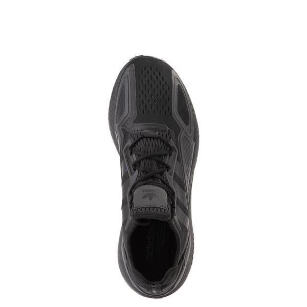 alternate view Mens adidas ZX 2K Boost Athletic Shoe - Black MonochromeALT4B