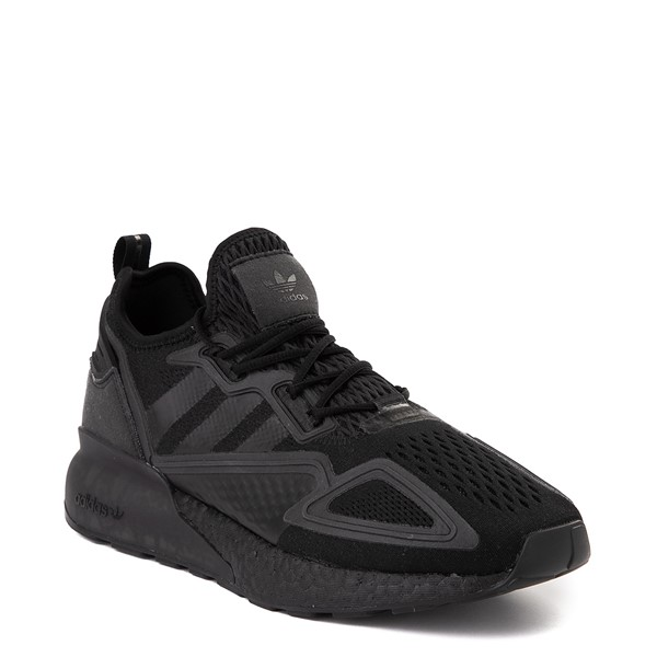 alternate view Mens adidas ZX 2K Boost Athletic Shoe - Black MonochromeALT5