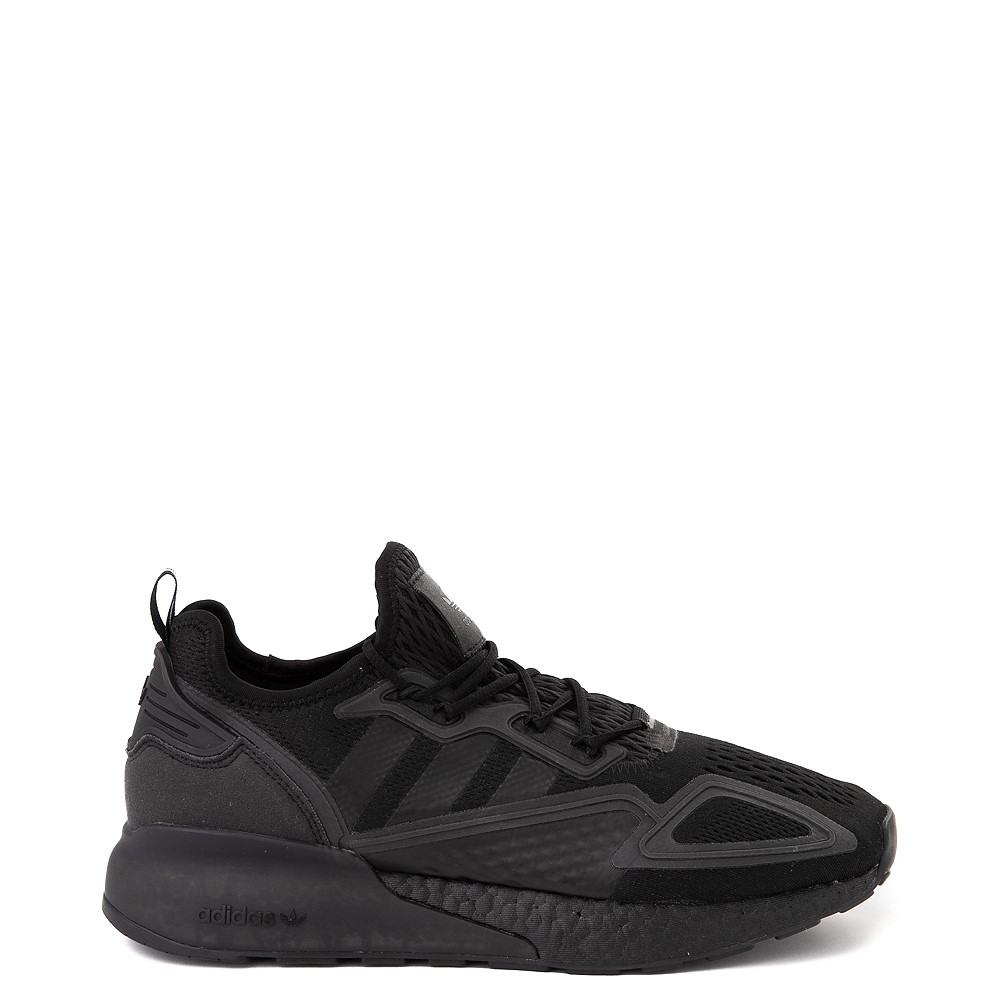 Mens adidas ZX 2K Boost Athletic Shoe - Black Monochrome