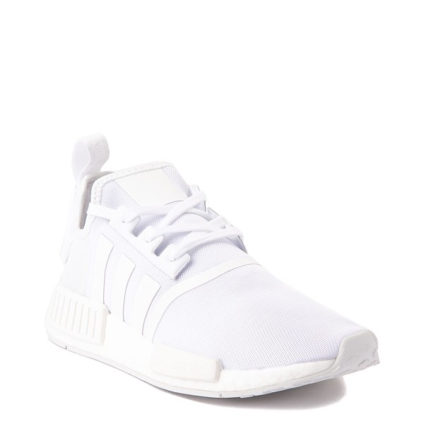 alternate view Mens adidas NMD R1 Athetic Shoe - White MonochromeALT5
