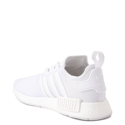 Alternate view of Mens adidas NMD R1 Athetic Shoe - White / Monochrome