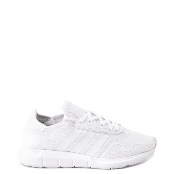 adidas Swift Run X Athletic Shoe - Big Kid - White Monochrome