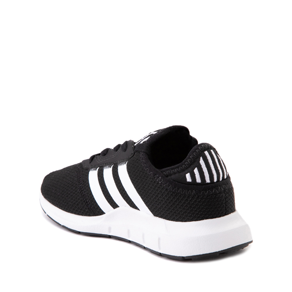 alternate view adidas Swift Run X Athletic Shoe - Little Kid - BlackALT1