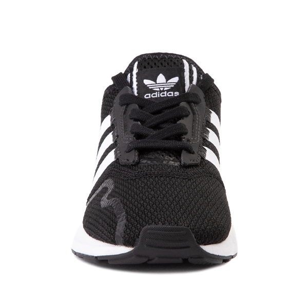alternate view adidas Swift Run X Athletic Shoe - Little Kid - BlackALT4