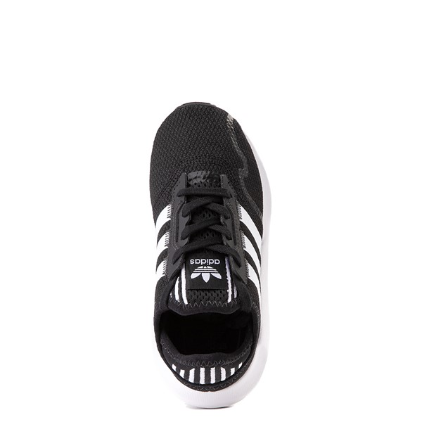 alternate view adidas Swift Run X Athletic Shoe - Little Kid - BlackALT4B