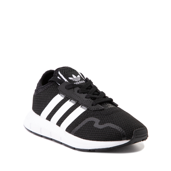 alternate view adidas Swift Run X Athletic Shoe - Little Kid - BlackALT5