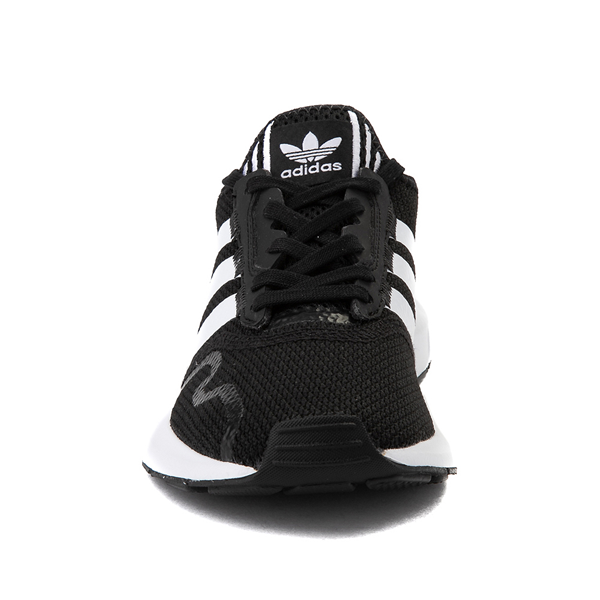 alternate view adidas Swift Run X Athletic Shoe - Big Kid - BlackALT4