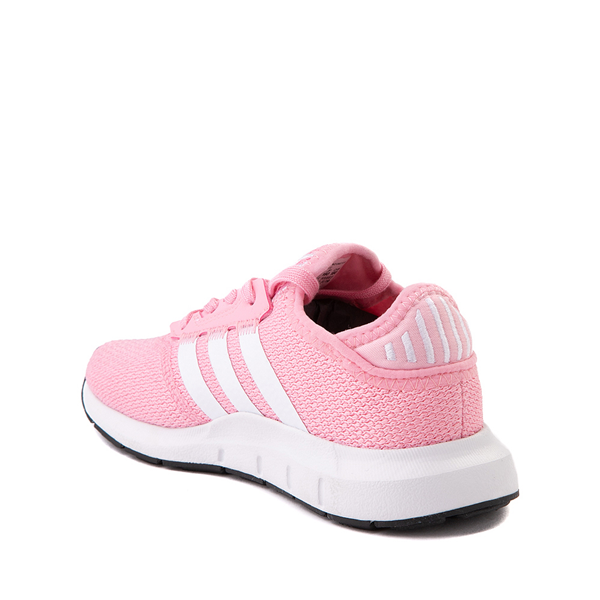 alternate view adidas Swift Run X Athletic Shoe - Little Kid - Light PinkALT1