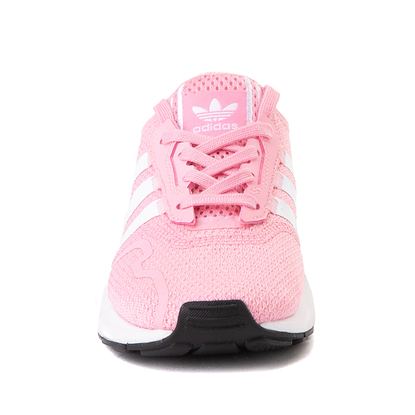 alternate view adidas Swift Run X Athletic Shoe - Little Kid - Light PinkALT4