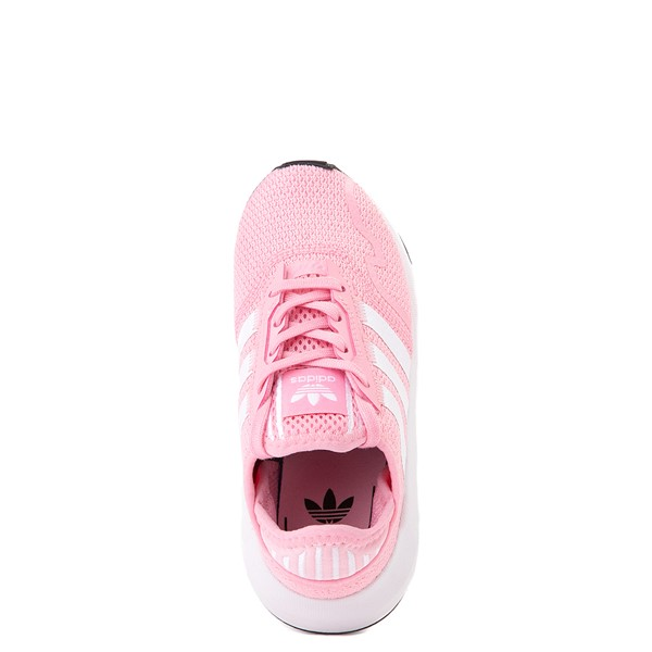 alternate view adidas Swift Run X Athletic Shoe - Little Kid - Light PinkALT4B