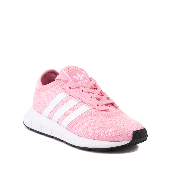 alternate view adidas Swift Run X Athletic Shoe - Little Kid - Light PinkALT5