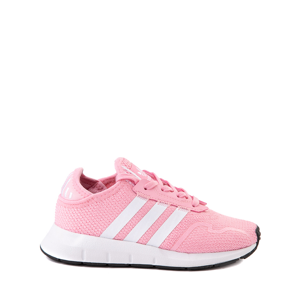adidas Swift Run X Athletic Shoe - Little Kid - Light Pink