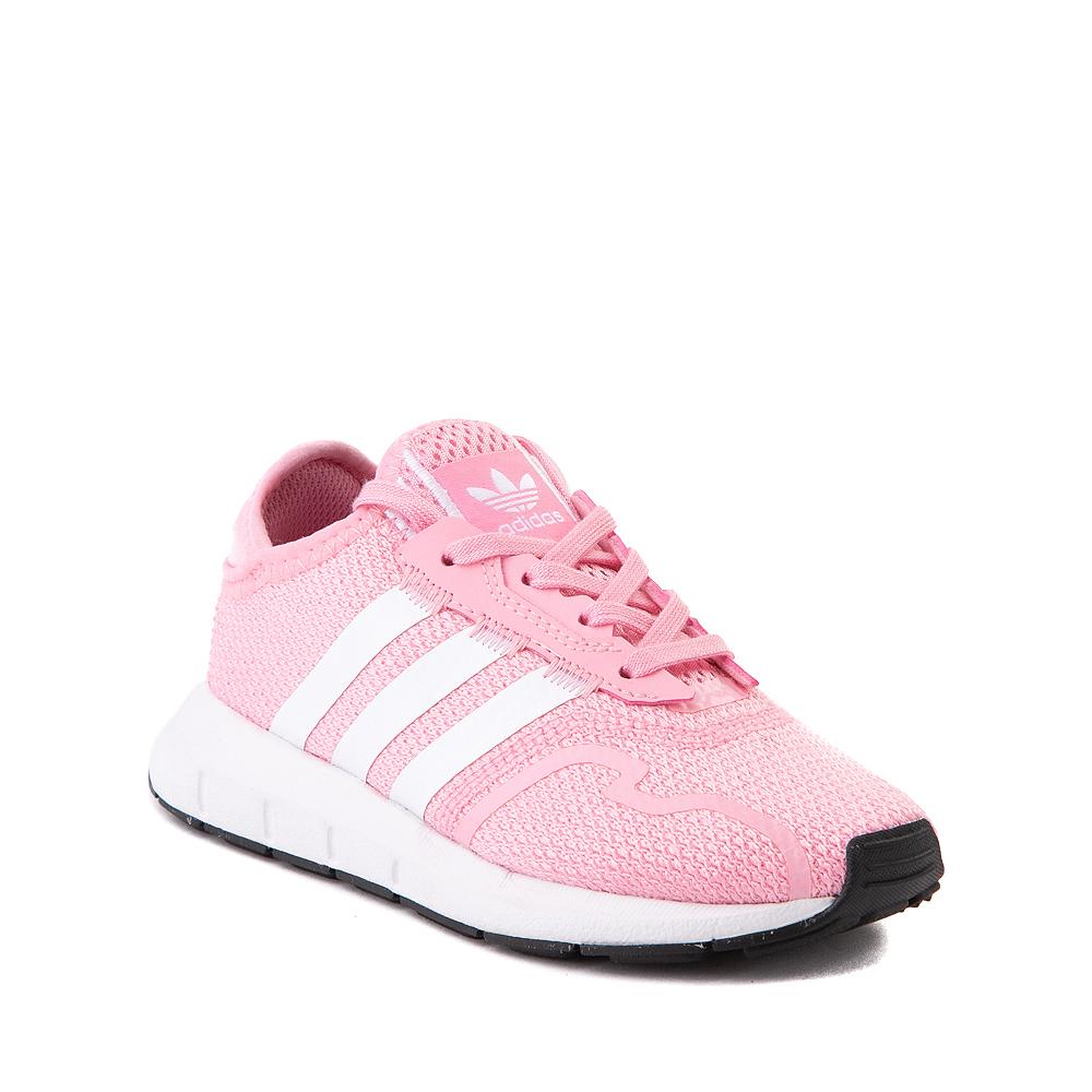 adidas Swift Run X Athletic Shoe - Little Kid - Light Pink