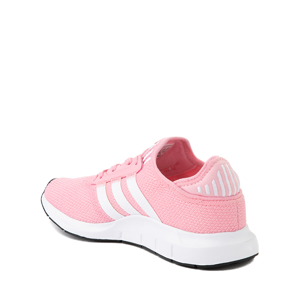 alternate view adidas Swift Run X Athletic Shoe - Big Kid - Light PinkALT1