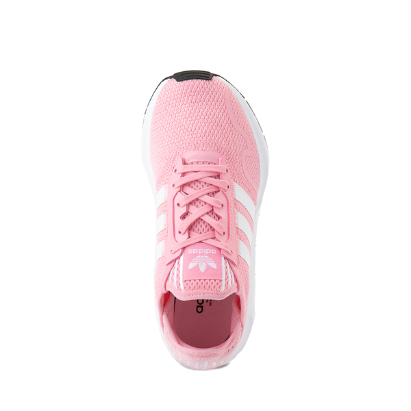 alternate view adidas Swift Run X Athletic Shoe - Big Kid - Light PinkALT2