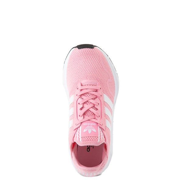 alternate view adidas Swift Run X Athletic Shoe - Big Kid - Light PinkALT4B