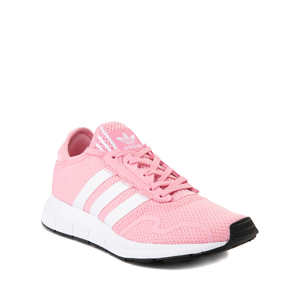 alternate view adidas Swift Run X Athletic Shoe - Big Kid - Light PinkALT5