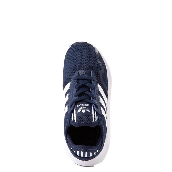 alternate view adidas Swift Run X Athletic Shoe - Little Kid - NavyALT4B