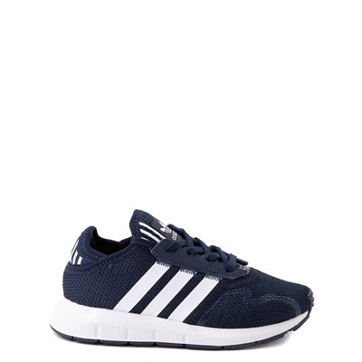 Main view of adidas Swift Run X Athletic Shoe - Little Kid - Navy