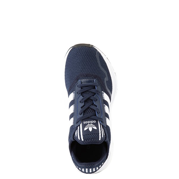 alternate view adidas Swift Run X Athletic Shoe - Big Kid - NavyALT4B