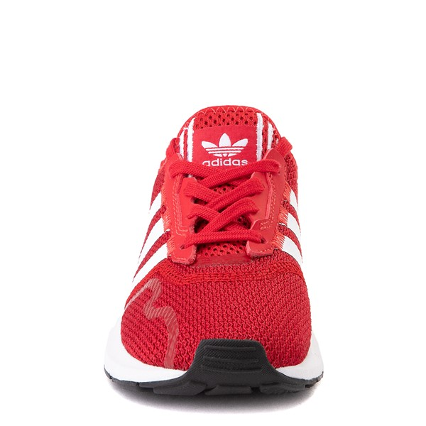 alternate view adidas Swift Run X Athletic Shoe - Little Kid - ScarletALT4